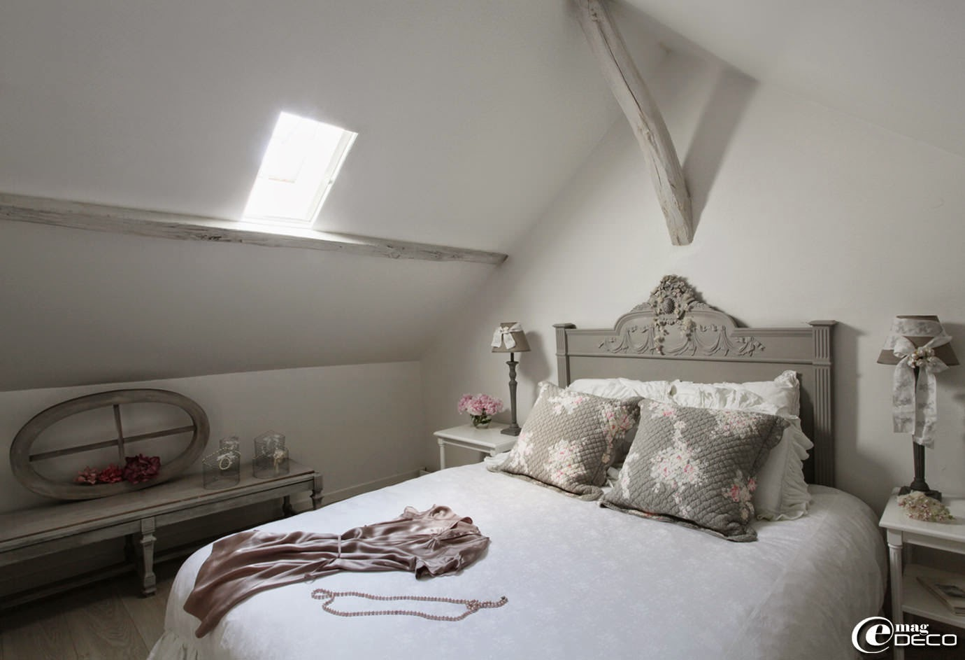 Chambre style campagne anglaise - Chambre ancienne ...