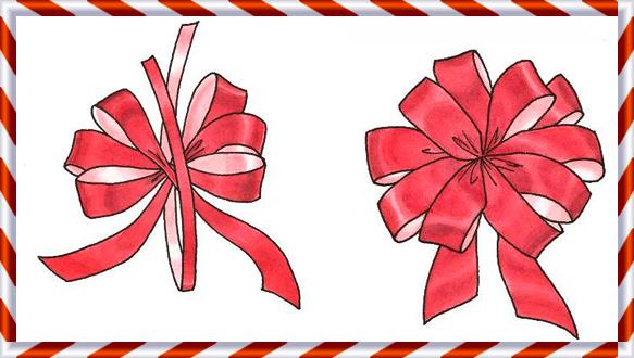 Elmets como hacer lazos para un rbol de navidad - Cinta arbol navidad ...
