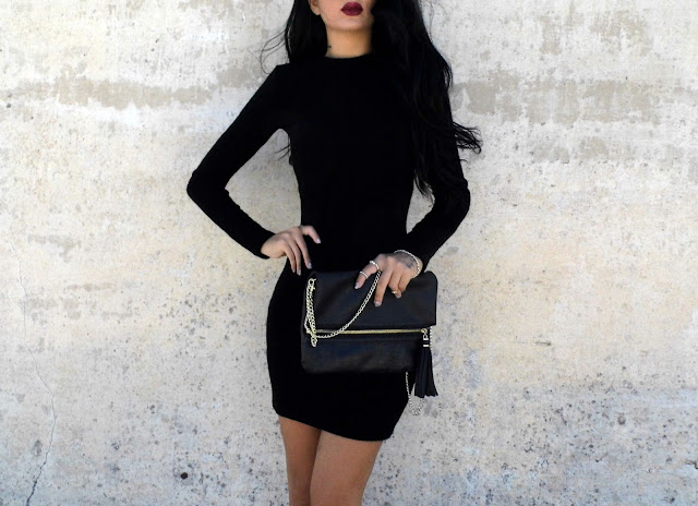 little black dress outfit