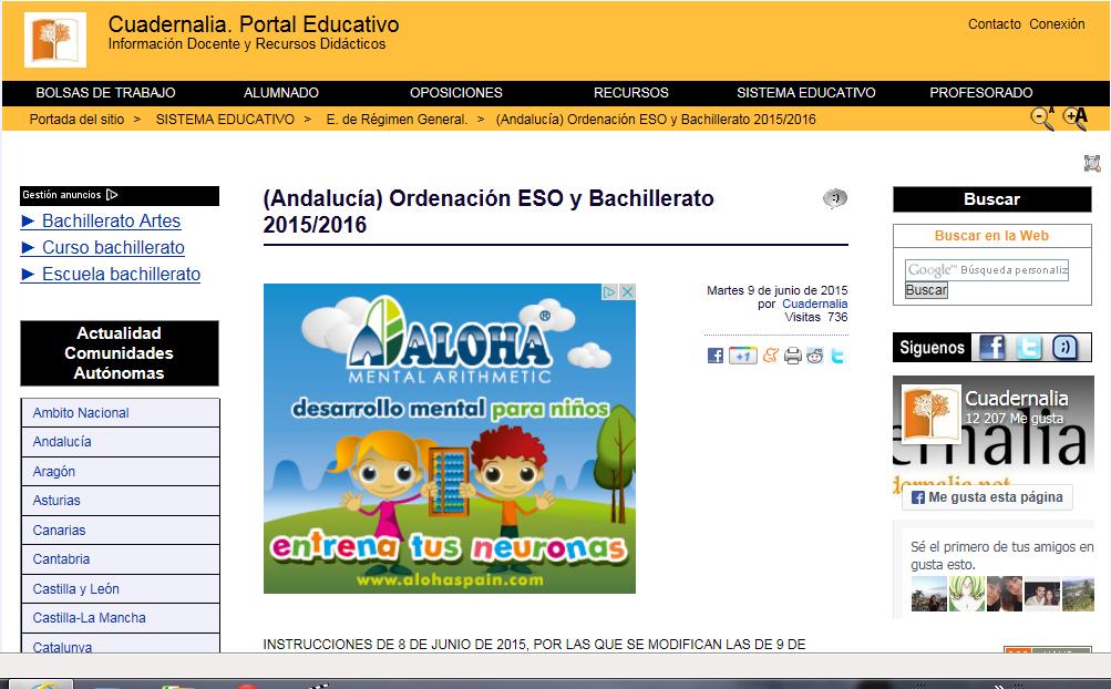 CUADERNALIA. PORTAL EDUCATIVO