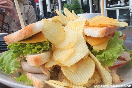 """Single Sandwitch"" mit Chips"