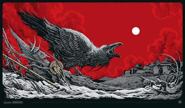 póster mondo edición limitada Juego de tronos 2 - Juego de tronos en los siete reinos