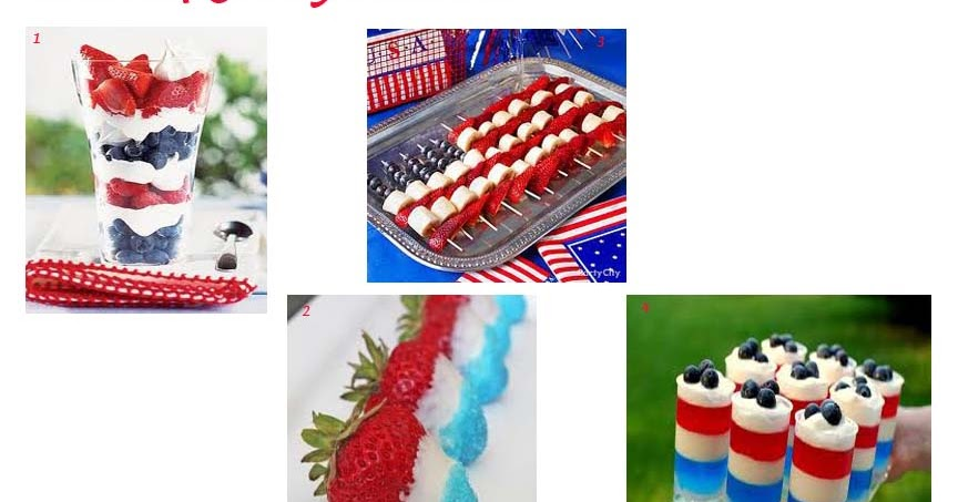 Bellagrey designs fun food ideas for the 4th of july for July 4th food ideas