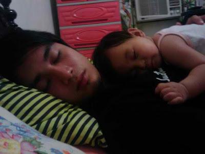 boyfriend and baby