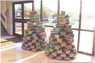 how to build a castle out of shoe boxes