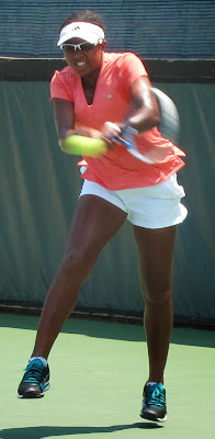 Teen Duval, with harrowing past, shocks Stosur