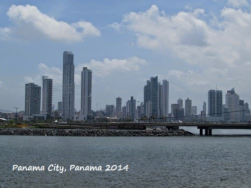View of Panama City, Panama - skyscrapers