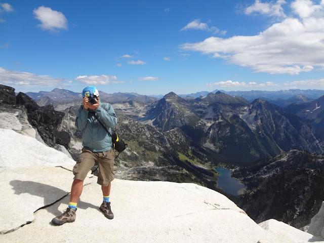 Summit of Mt. Gandalf, Tolkien Group, BC