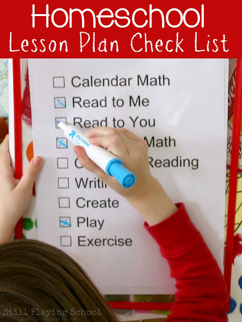 How to organize and plan for homeschool subjects