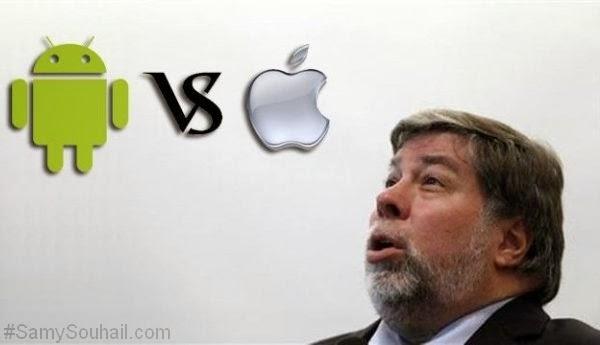 أحد مؤسسي Apple يقترح اعتماد نظام أندرويد في أجهزة آيفون وآيباد !
