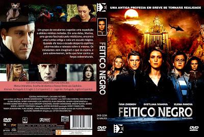 Feitiço Negro DVD Capa
