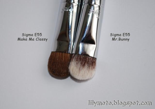 Кисть для теней Sigma Mr.Bunny Е55