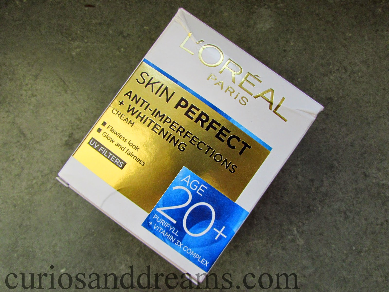 L'Oreal Skin Perfect 20+ Cream review, L'Oreal Skin Perfect review,