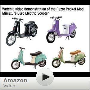 Razor Pocket Mod Electric Scooter