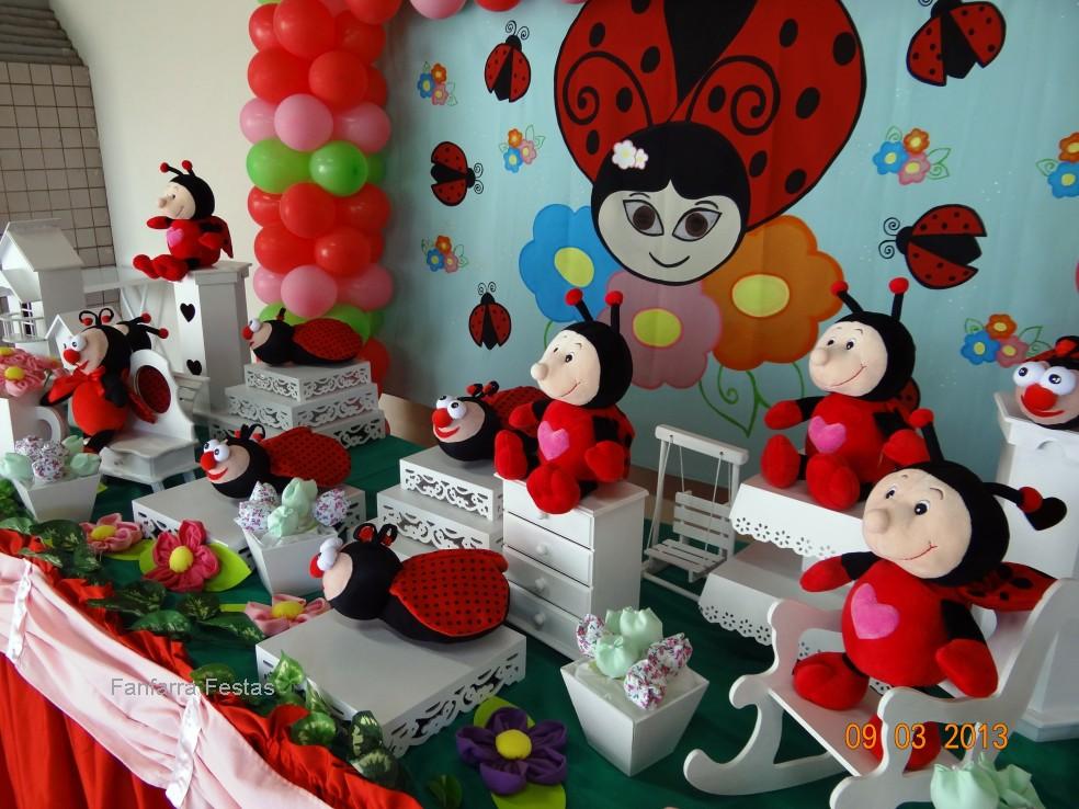 decoracao de festa infantil jardim das joaninhas:Joaninha Provençal – Fanfarra Festas