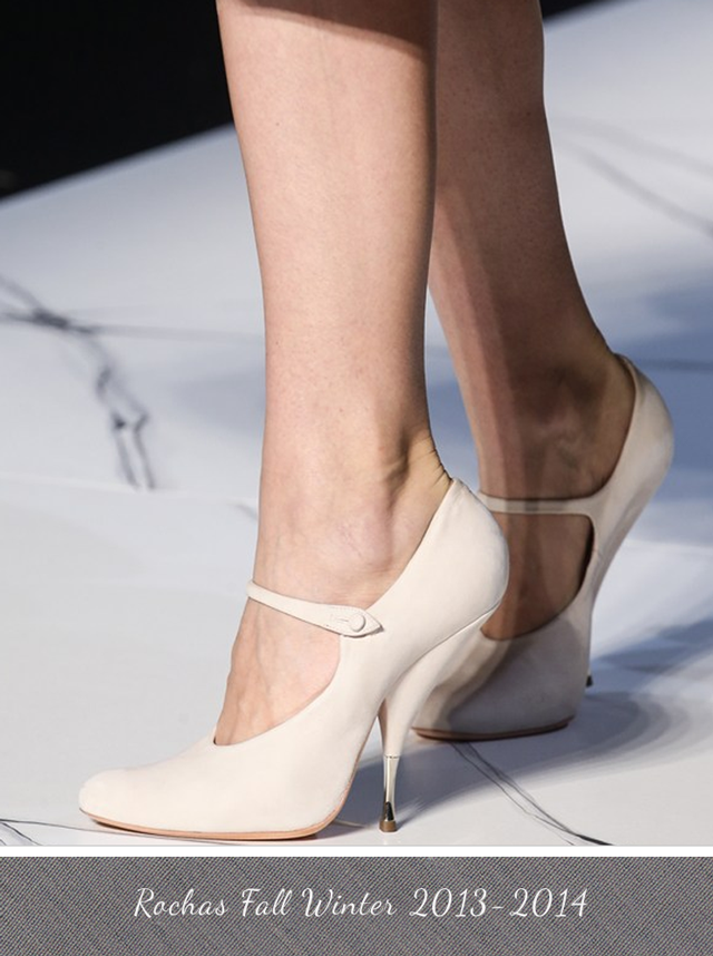 Rochas Shoe Fall Winter 2013 - 2014