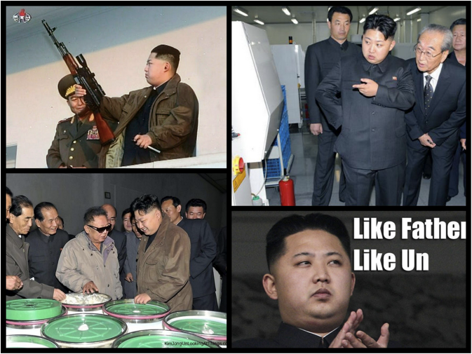 The gallery for gt Kim Jong Un Looking At Chuck Norris