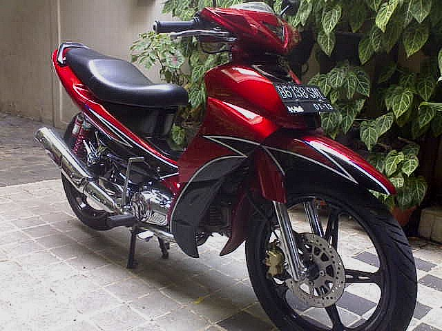 Super Modifikasi Yamaha Jupiter Z Unik