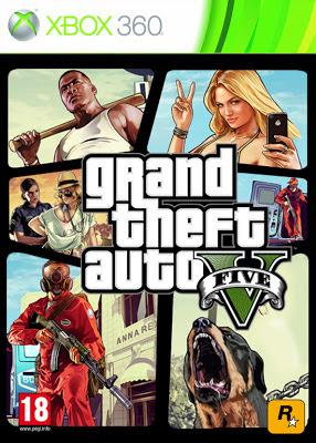 Grand Theft Auto V box cover