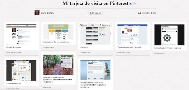 Pinterest marca personal recursos humanos maria breton