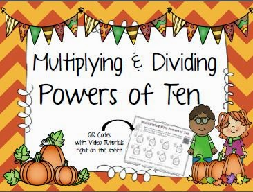 http://www.teacherspayteachers.com/Product/Multiplying-Dividing-By-Powers-Of-Ten-1454001