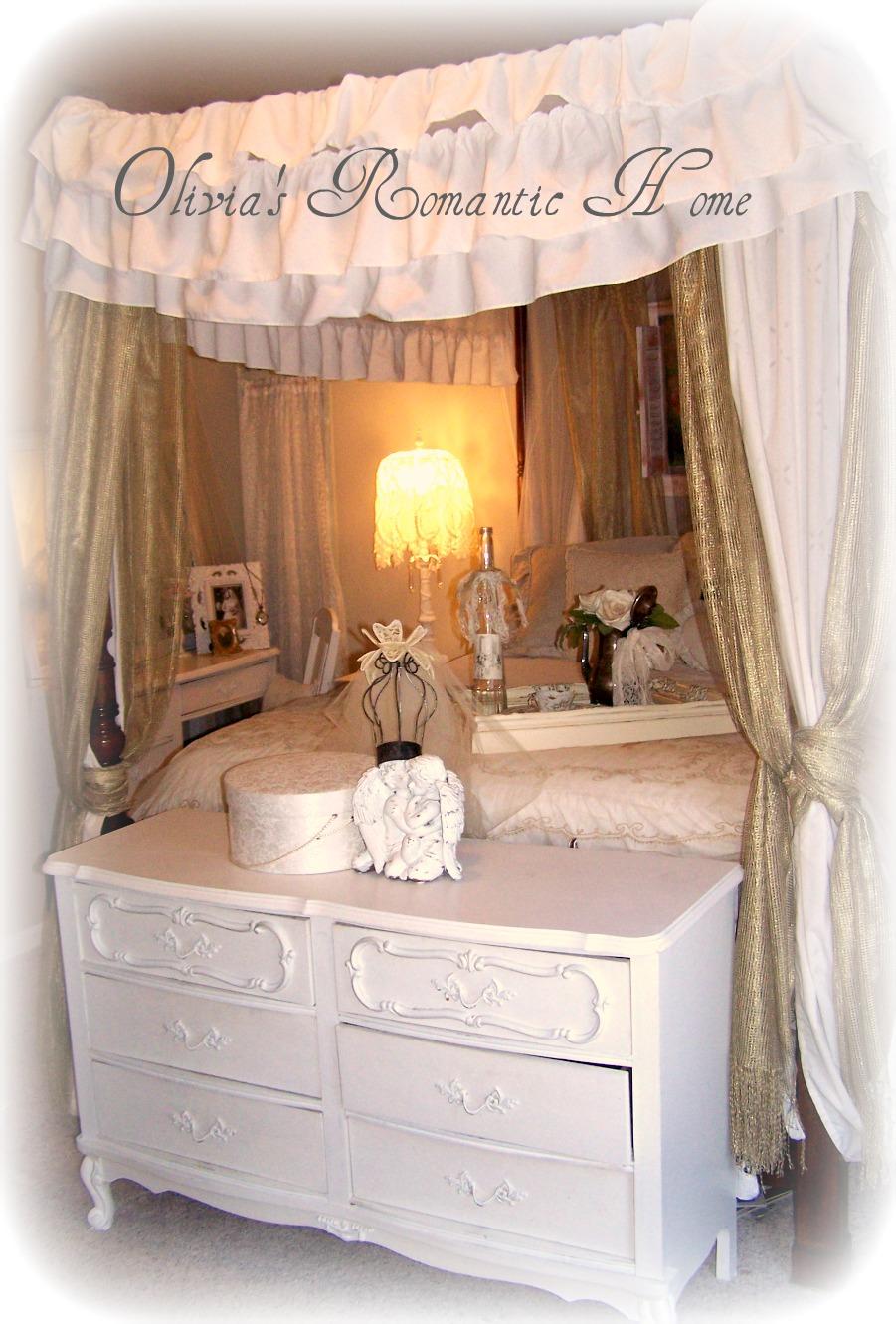 Olivia 39 S Romantic Home Shabby Chic Bedroom Boudoir Update
