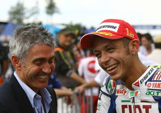 Michael Doohan dan Valentino Rossi