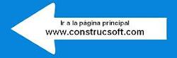 Página principal de ConstrucSoft