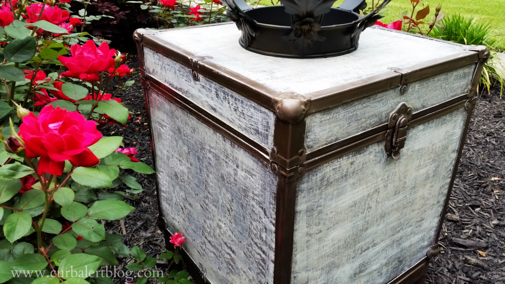 Here Is My Version Of The Pottery Barn Ludlow Trunk Side Table: