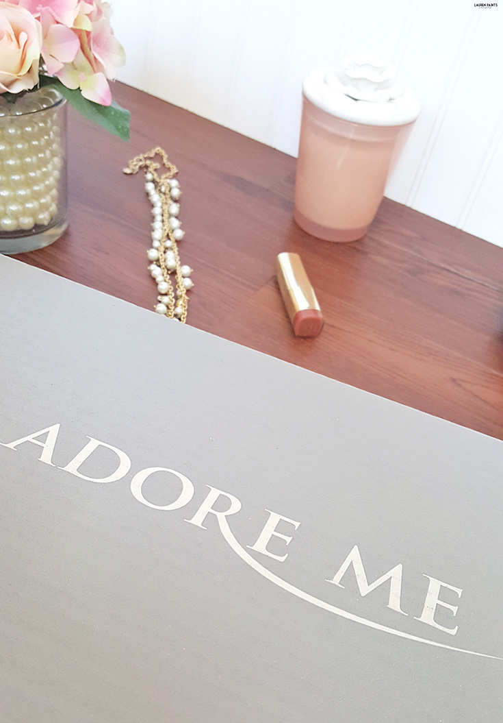 Adore Me is my newest box I've added to my collection of subscriptions and since I'm loving the box so much, I've decided to share all the details about something I usually keep a secret.