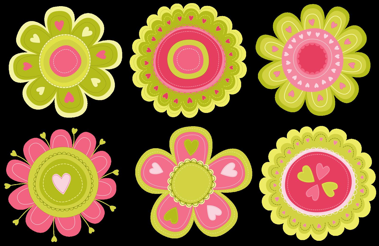 Цветочки для открытки шаблоны