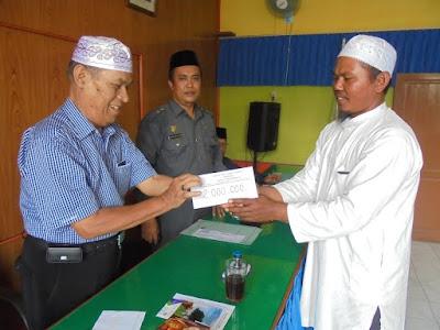 Bazda Kota Tanjungbalai Serahkan Bantuan Serikat Kemalangan