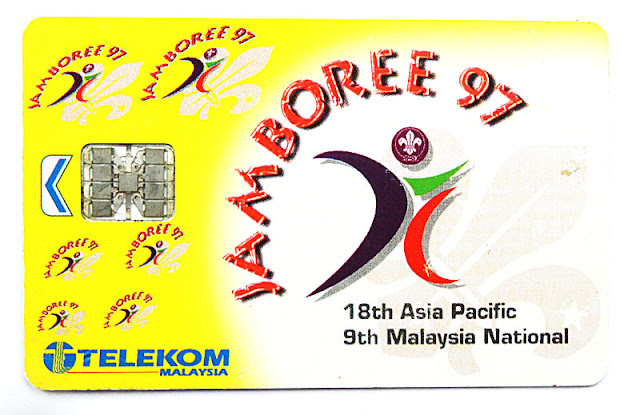 kad telefon awam Telekom Malaysia - Jamboree 97