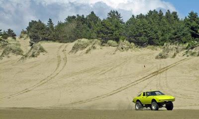 RX-7 dune car