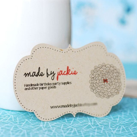 Eco-Friendly Recycled Paper Business Card
