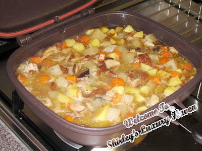 happy call pan appetizing stewed pork recipe