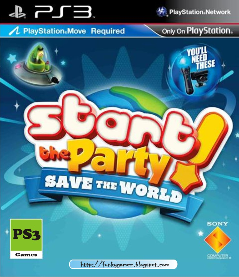 A Game That Starts With A Ps3 : Start the party save world ps iso games us