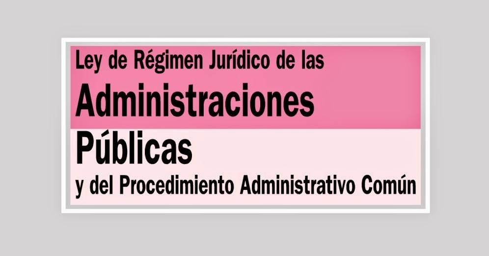 Ley de Procedimiento Administrativo Común