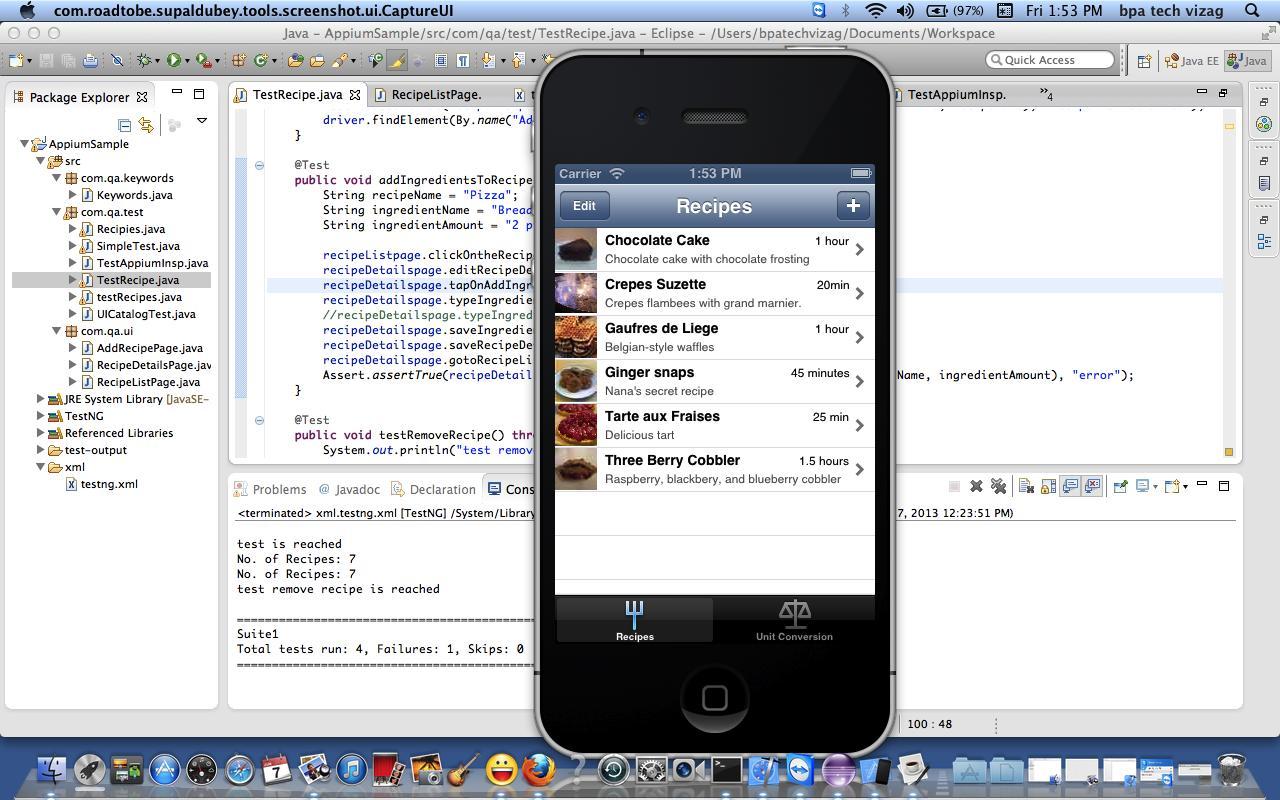 Automators' Cafe: Sample script using Appium for native iOS ...