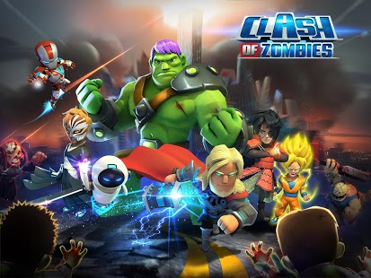 X-War: Clash of Zombies 5.1 Apk