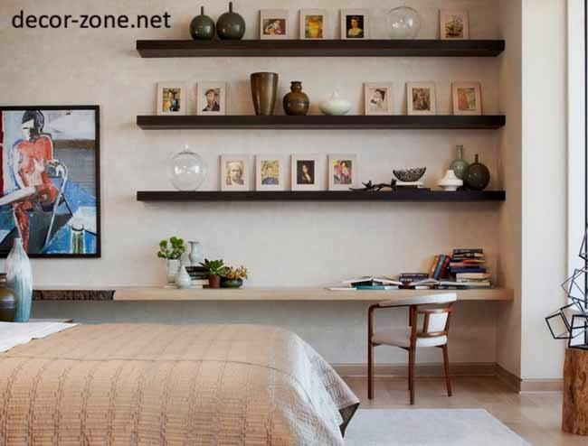 Gentil Simple Bedroom Shelves Ideas