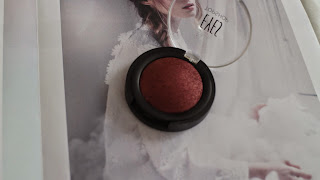 Topshop, Red eyeshadow, Pretty makeup, Topshop Makeup, Topshop eyeshadow, Metallic eyeshadow, Topshop makeup review