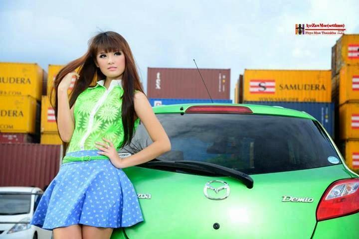 May Thun Kha - Pretty Myanmar Girl Collection