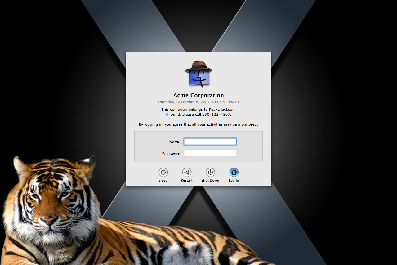 Apple Mac OS X 10.4 Tiger Full Version for Mac