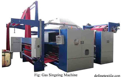 Gas-Singeing-Machine