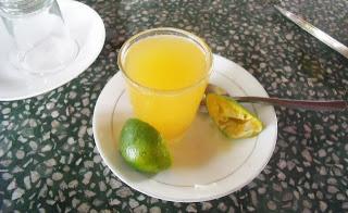 honey lime drink