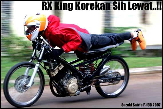 Gambar Motor Drag Satria