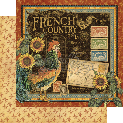 Create On Ormond Graphic 45 Secret Garden French Country