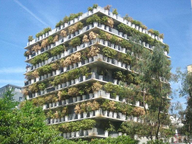 Flower Tower, la maceta gigante de la ciudad de Paris | Francia