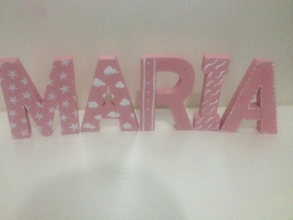 letras decorativas 3d para mesas dulces o para decorar cualquier rincn - Letras Decorativas